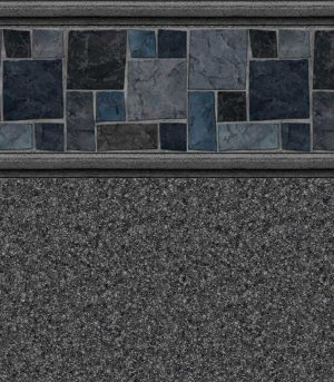 Courtstone / Natural Gray <br>27 mil <br>tile height 11""