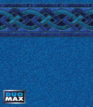 "Indigo Marble / Blue Granite <br>27 / 20 mil <br>tile height 9 1/4"""
