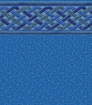 """Bali / Blue Granite <br> 27 mil <br>tile height 9"""""""