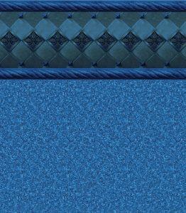 Pool Liner - Ocean Barolo / Natural Blue