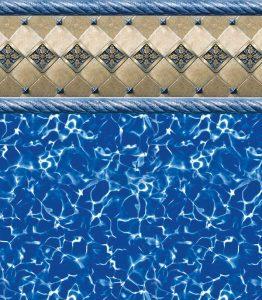 Pool Liner - Barolo / Prism
