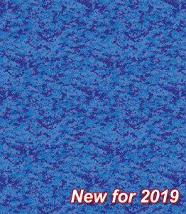 Pixel Blue Pearl Floor Liner Pattern