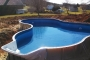 Swimming Pool Before Back-filling